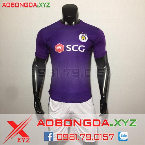 Áo Câu Lạc Bộ Hà Nội FC 2019 Màu Tím