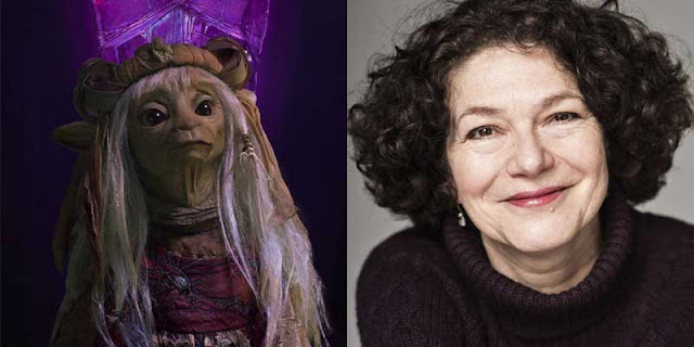 Louise Gold es Maudra Argot en 'Cristal Oscuro: La era de la Resistencia'