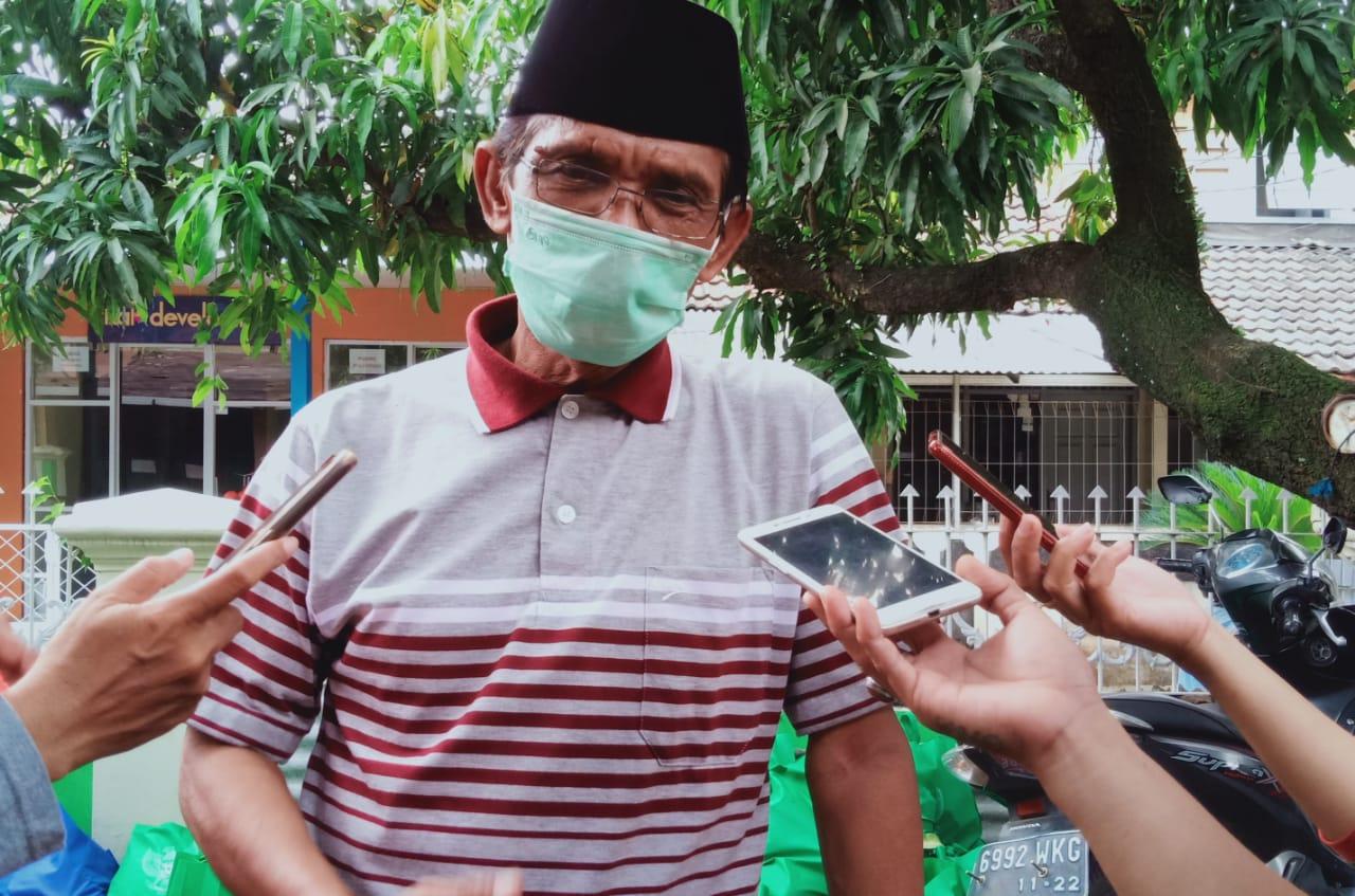 Baznas Kota Tangsel Salurkan Sembako Untuk Warga Terdampak Covid-19