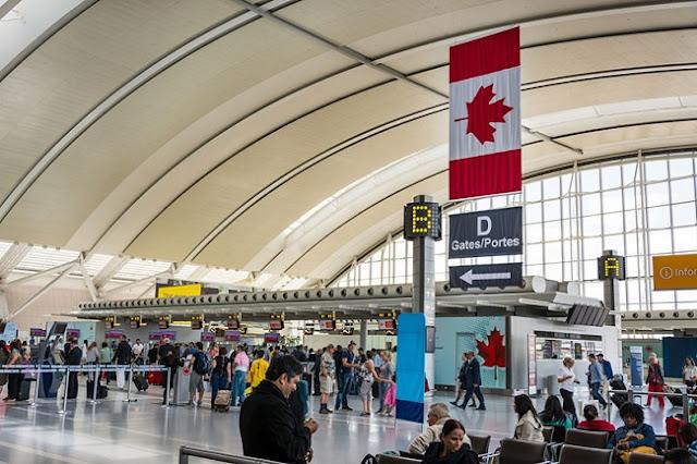 Thủ tục hải quan khi nhập cảnh ở sân bay Canada 3