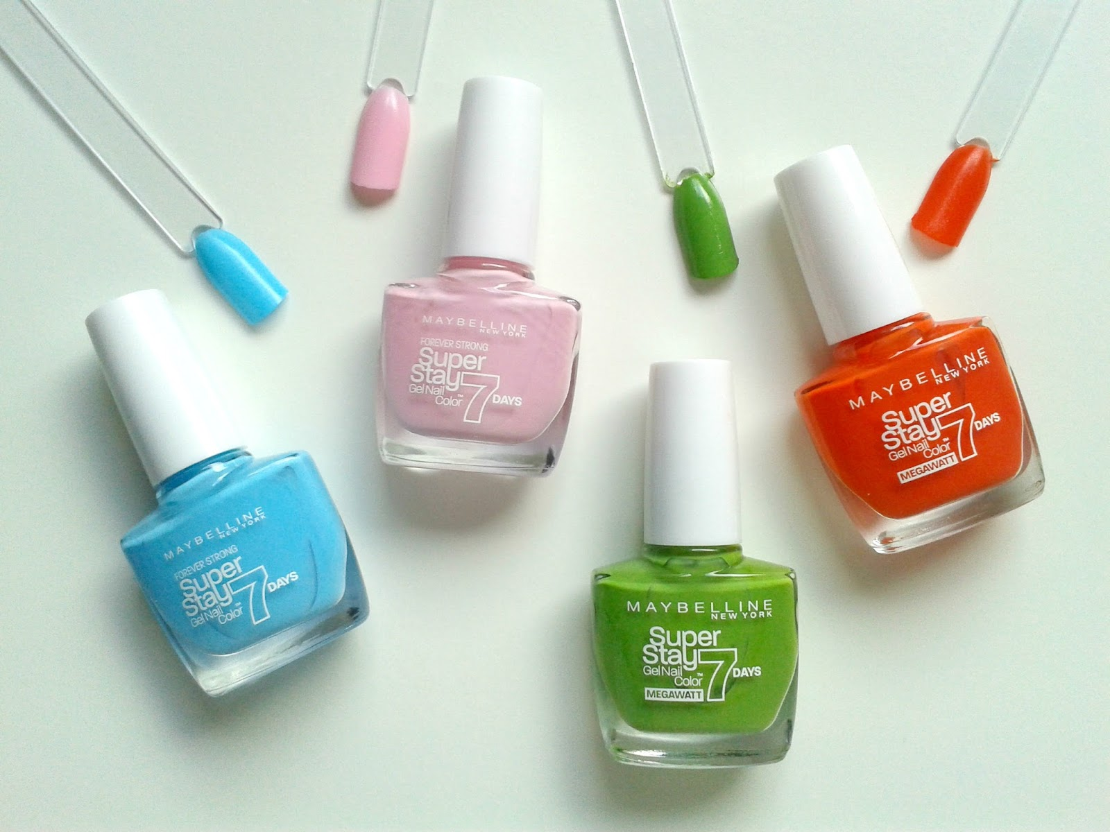 Maybelline New York Super Stay 7 Days Gel Nail Colours Beauty Review Swatches