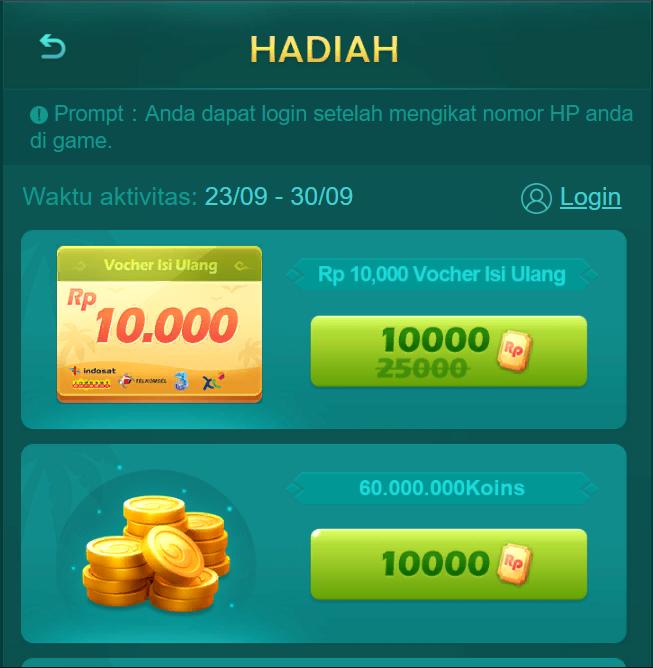 Cara Ganti Password Higgs Domino Island Gaple Qiuqiu Online Poker Game