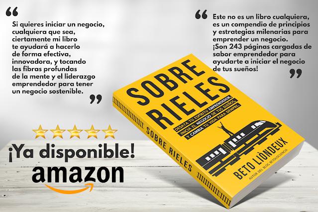 libro sobre rieles en amazon.com