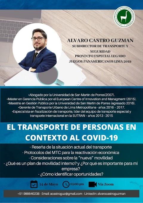 APAVIT: EL TRANSPORTE DE PERSONAS EN CONTEXTO AL COVID-19