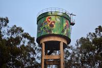 Water Tower Art by Scott Nagy and Krimsone in Milbrulong