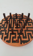 peg game carved with a cnc router