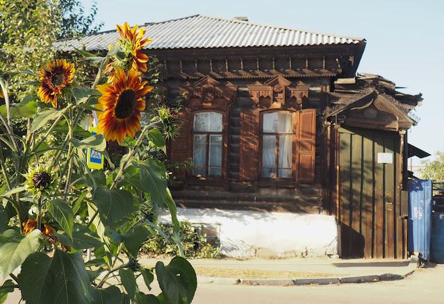 Улан-Удэ, ставни на домах