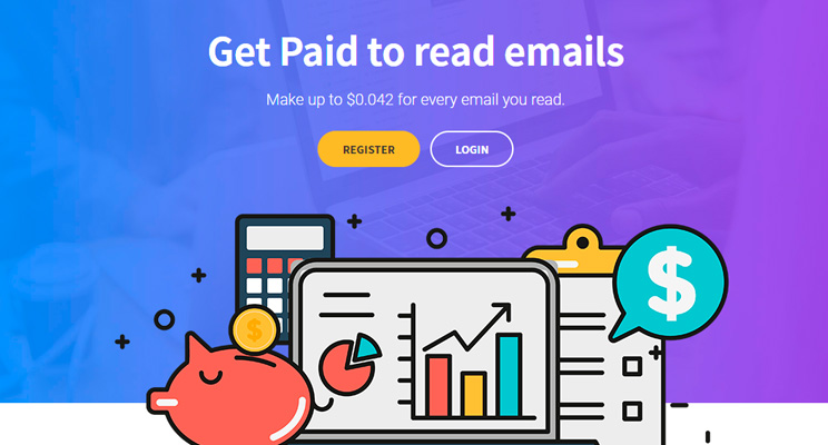 Get  Paid For Reading e-mails