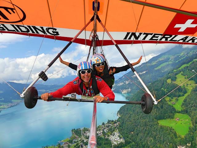 Interlaken hanggliding experience