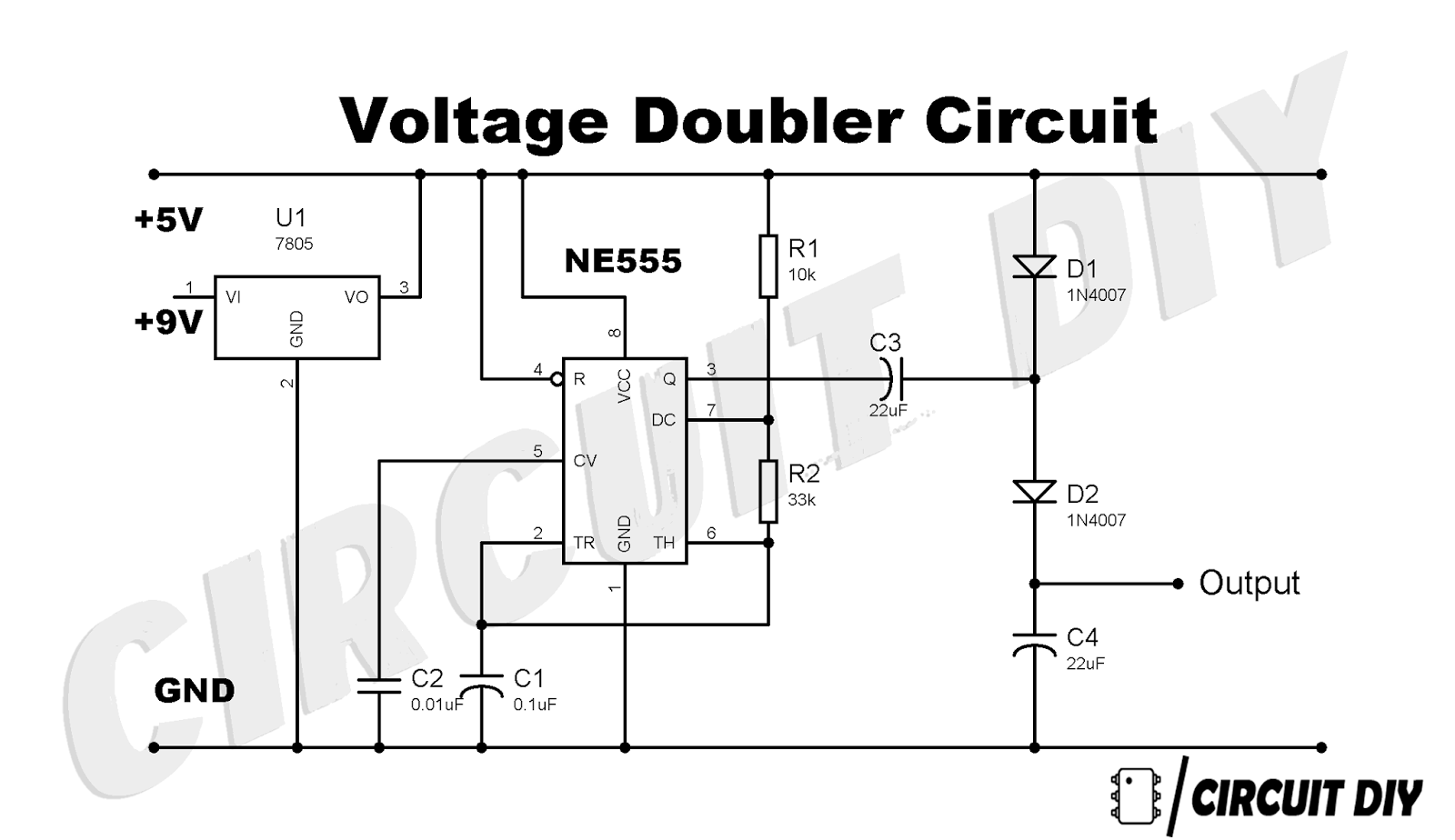capacitor tutorial and voltage doubler circuit build explanation