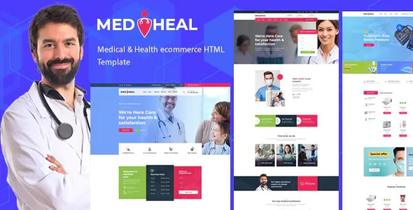 Medical & Healthcare Website Template