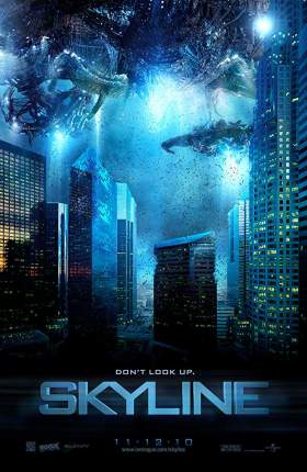 Skyline 2010 Dual Audio Hindi 800MB BluRay 720p