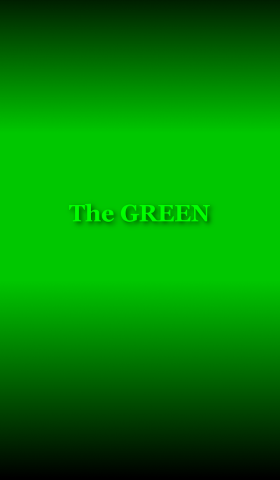 [ The GREEN ]