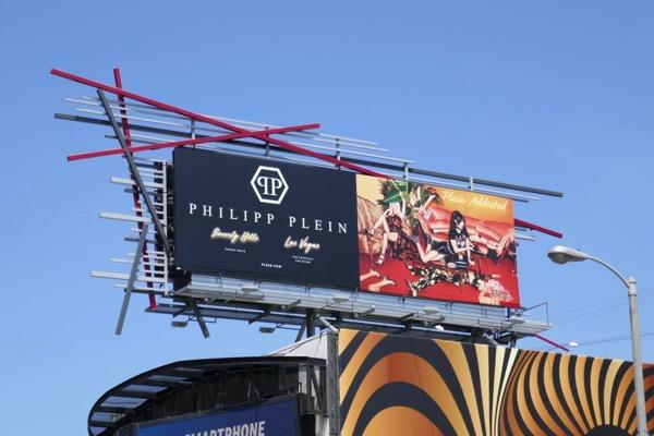 Philpp Plein Summer 2018 billboard