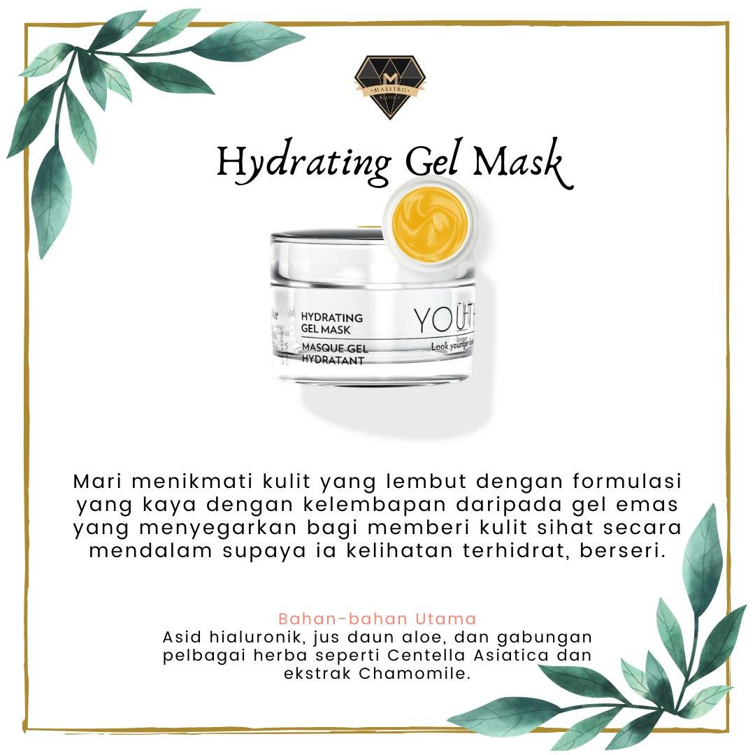 Skincare Untuk Kulit Kering - Youth Hydrating Gel Mask