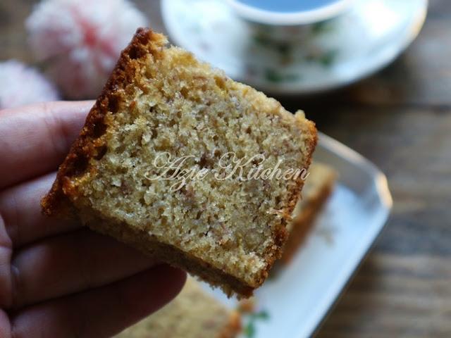 Kek Pisang Yang Sangat Moist