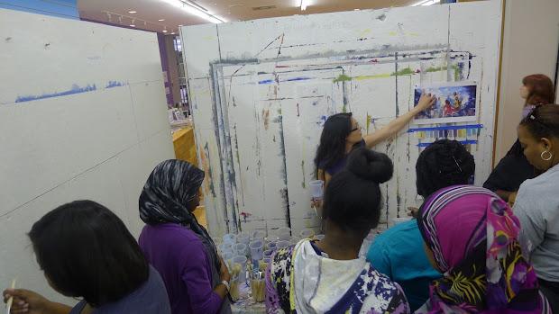 Dhs Boys Girls Track- . Week 10 Mural Arts