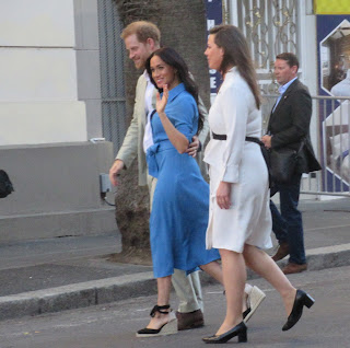 Duke and Duchess of Sussex enter District 6 museum Cape Town