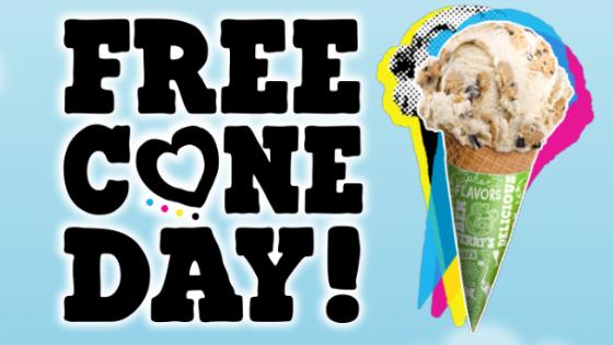 Free Cone Day: Ganhe um sorvete Ben & Jerry's