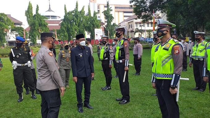 Amankan Hari Raya Idhul Fitri. Pemkot Siagakan 600 Personil Gabungan