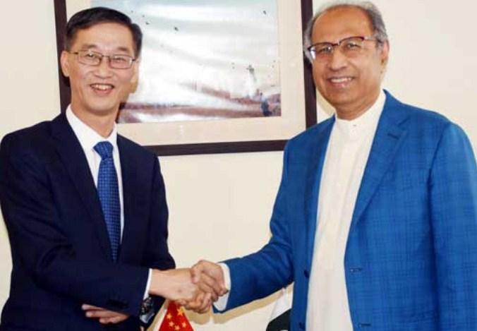 CPEC helps Pakistan change its destiny: Hafeez Sheikh