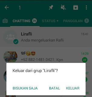 Cara Admin Menghapus Grup WhatsApp (WA) Secara Permanen