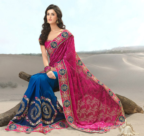 baju sari india modern