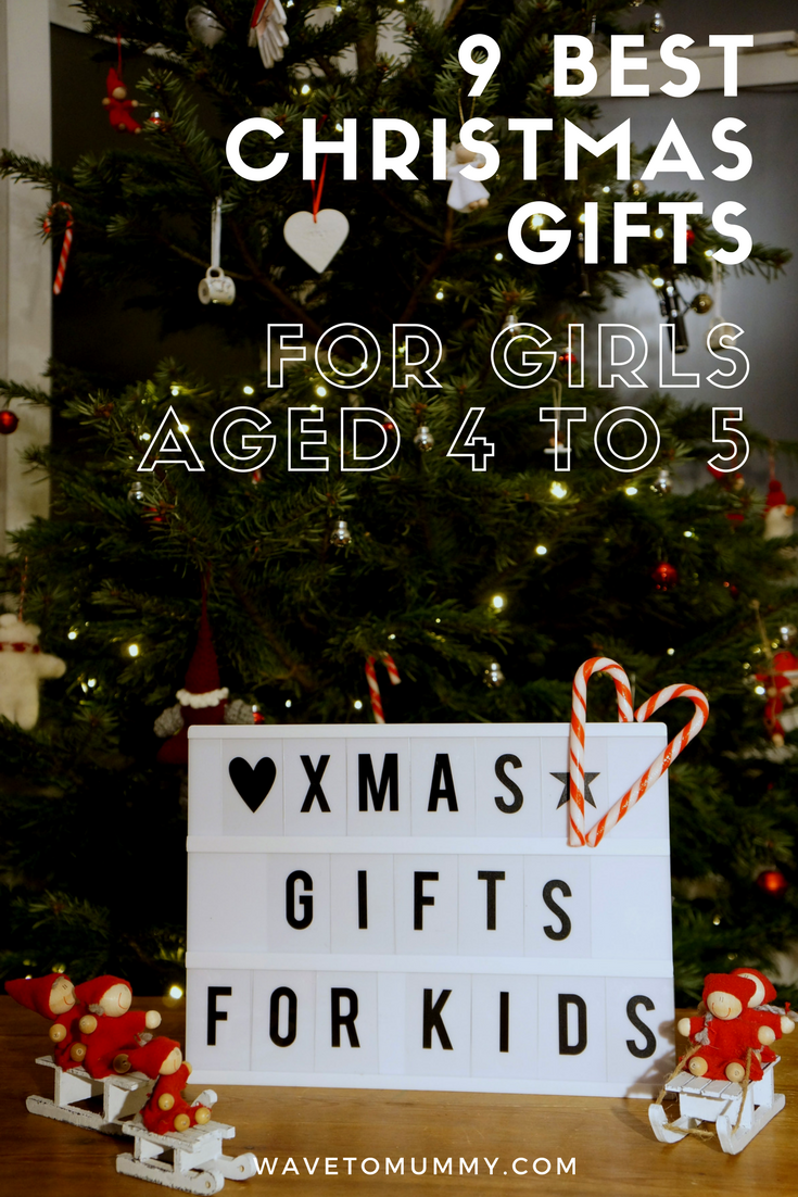 My top 9 gift ideas and product recommendations for kids aged 4-5 - from main gifts to stocking fillers