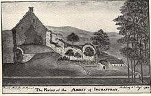 Inchaffray Priory, Maurice, Abbot of Inchaffray, Robert the Bruce