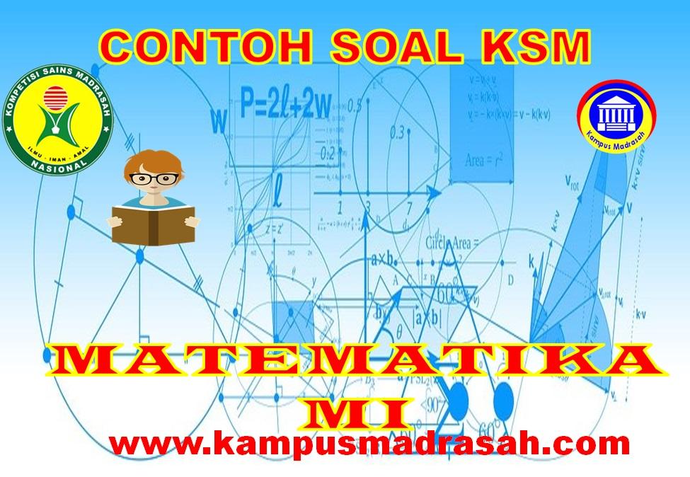 Soal KSM Mapel Matematika
