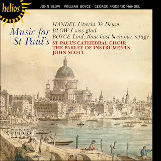 Blow, Boyce & Handel: Music for St Paul's