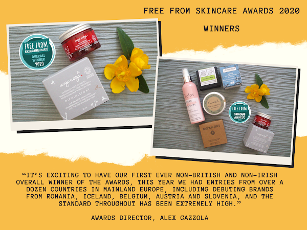 Free From Skincare Awards 2020 - Winners Announced