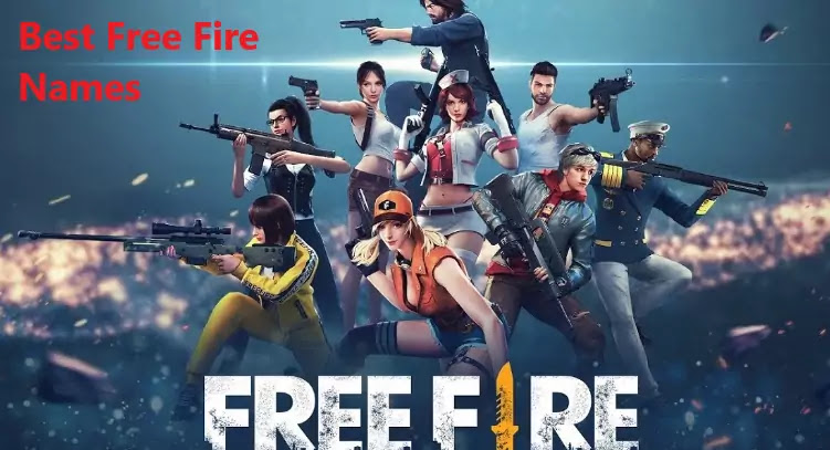 best free fire names