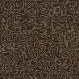 free background pattern of dark brown winding stripes