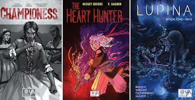SDCC 2021 Legendary Comics YA Titles