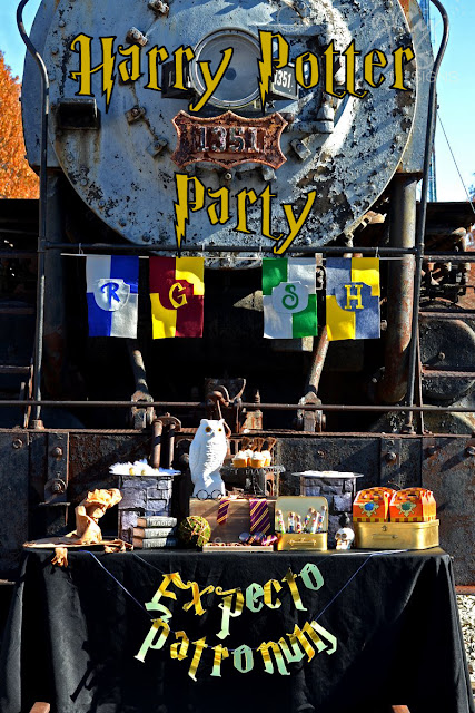 #harrypotter #hogwarts #hogwartsexpress #hogwartsparty #harrypotterparty #greygreydesigns