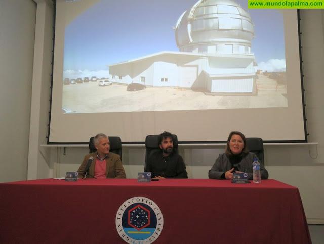 Mateo Gil presenta su nueva película en el Gran Telescopio Canarias en el marco de Astrofest La Palma
