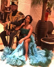 Celebrating 10 Nigerian celeb couples on Valentine's Day.