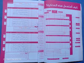 نموذج مذكرة يومية مملوءة للأسابيع الأولى من التقويم التشخيصي