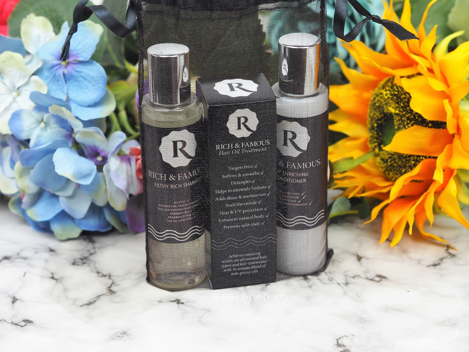Rich & Famous Haircare Gift Set