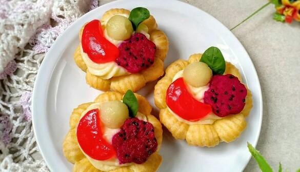 Vla Vanilla Flower Cake Recipe