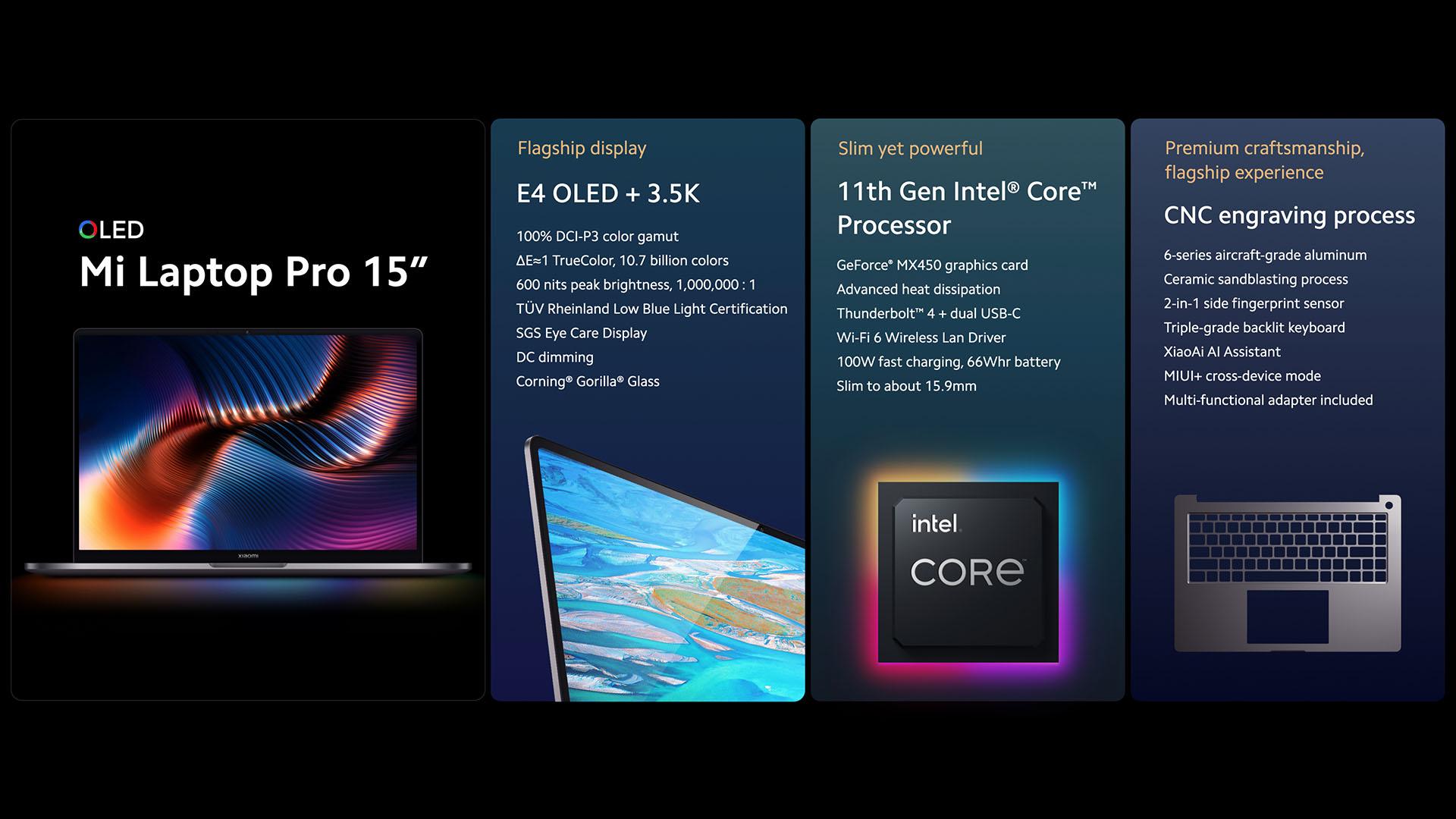 Nuovo Xiaomi Mi Laptop Pro, eccezionale in tutto!