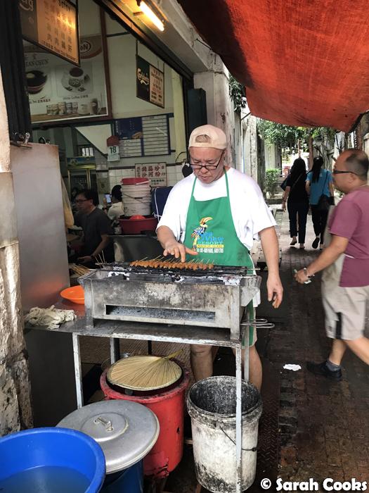 The Satay Man, Thean Chun