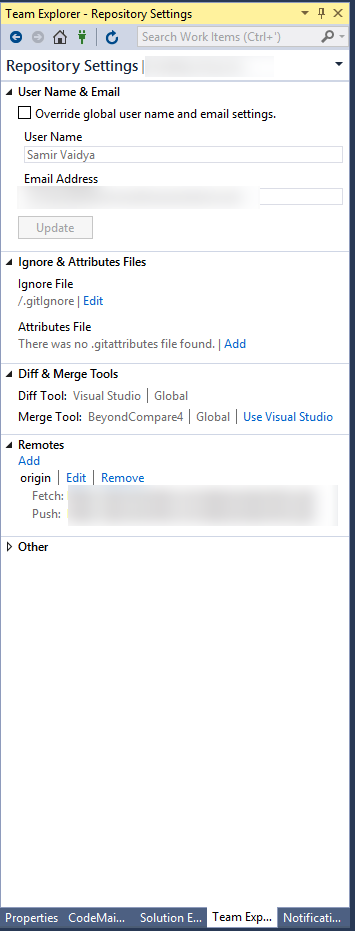 Living and breathing the world of Microsoft: Visual Studio