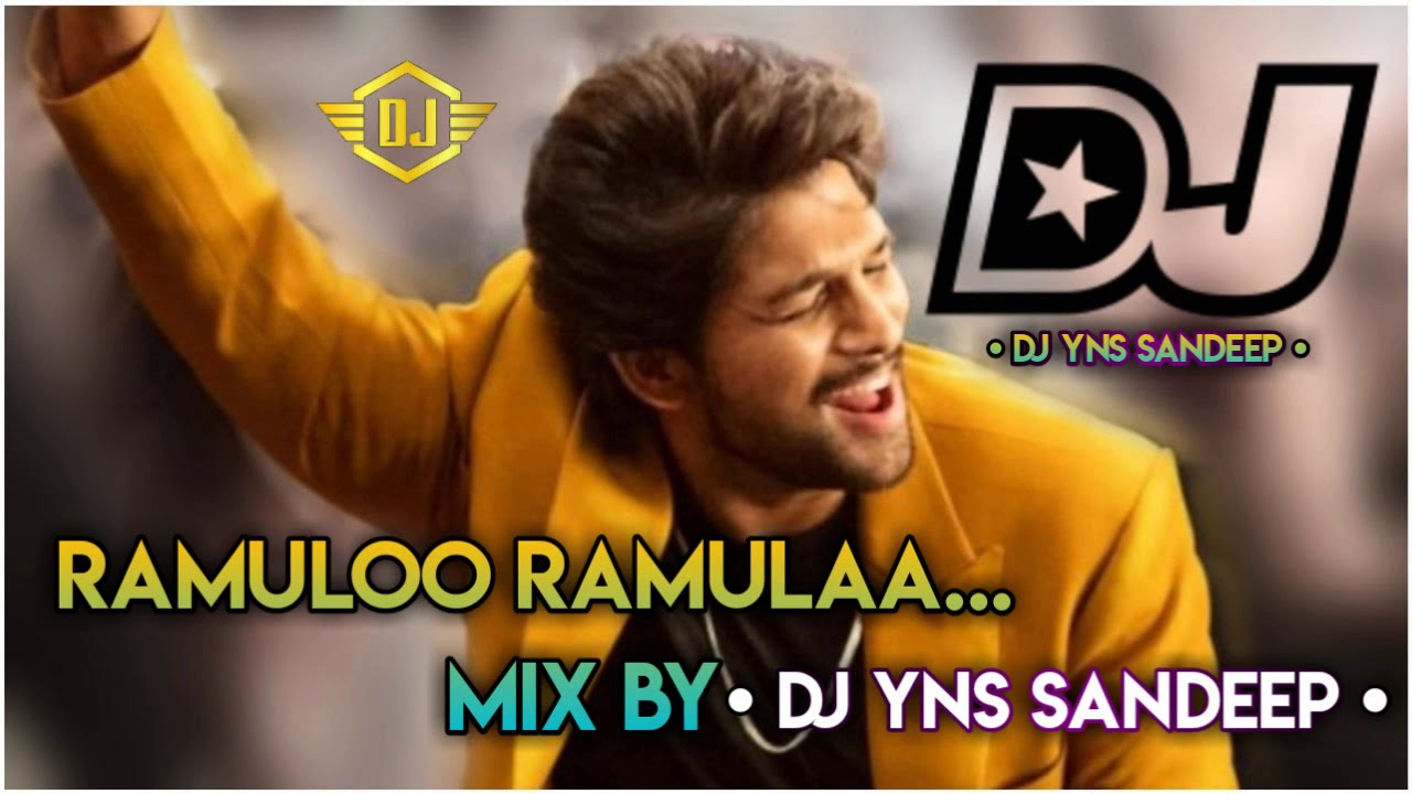 Ramuloo Ramula Dj Song Ramulo Ramula Song Dj Mix DJ YNS SANDEEP(www.newdjsworld.in)