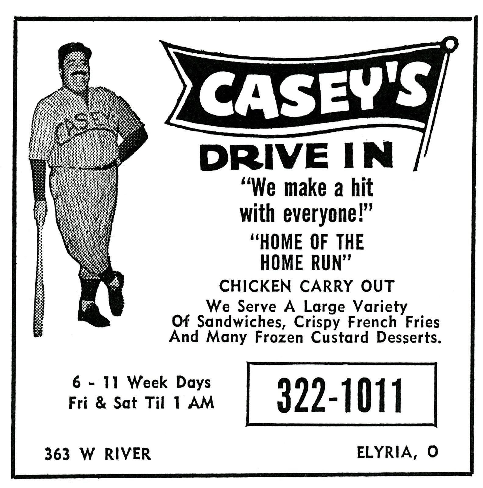 Brady's Bunch of Lorain County Nostalgia: Casey's Drive-in