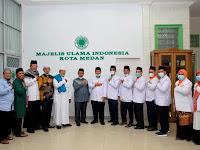 Perkenalkan Pengurus Baru, PKS Silaturahim ke MUI Medan