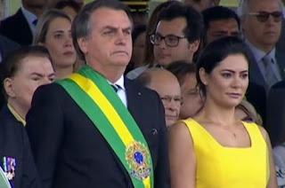 Jair Bolsonaro participa do Desfile da Independência do Brasil