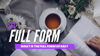 What Is The Full Form Of SSC?