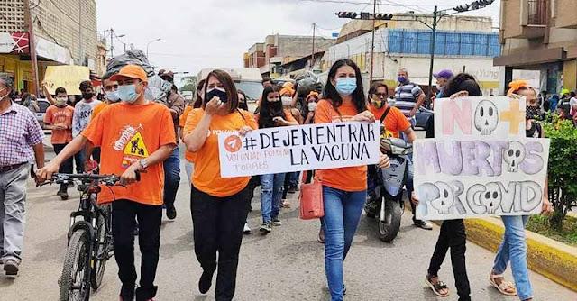 VP TORRES EXIGE VACUNAS CONTRA EL COVID-19 PARA TODOS LOS VENEZOLANOS